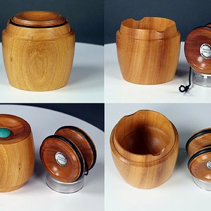 Sycamore Yo-Yo Lided Box