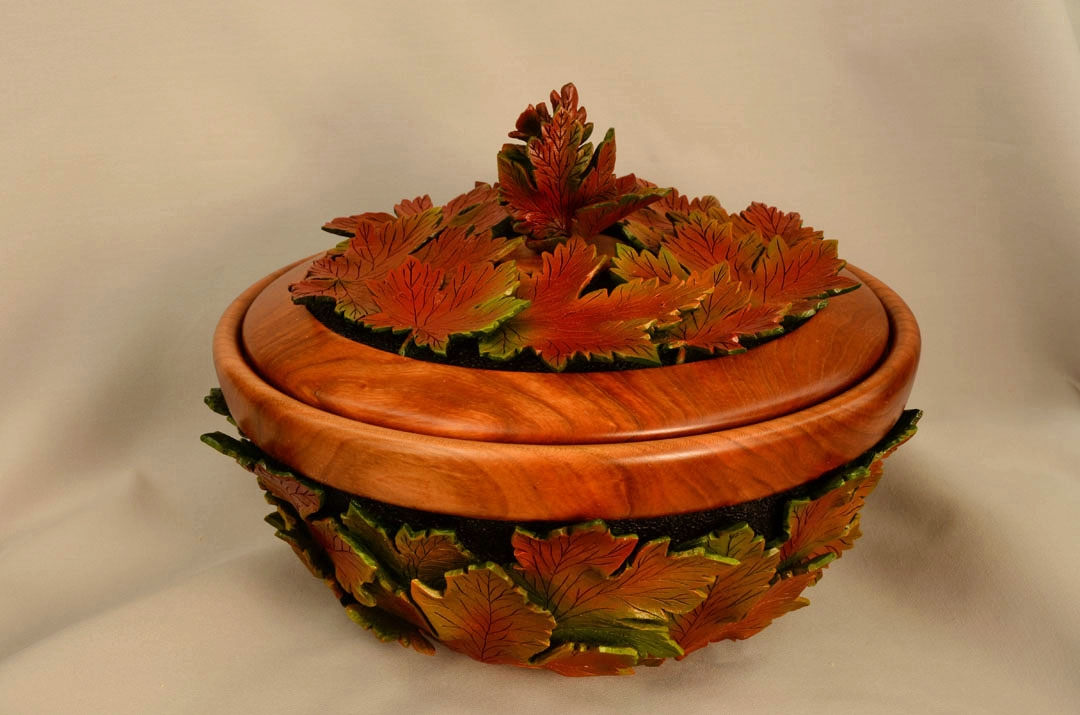 A pot filled with Fall