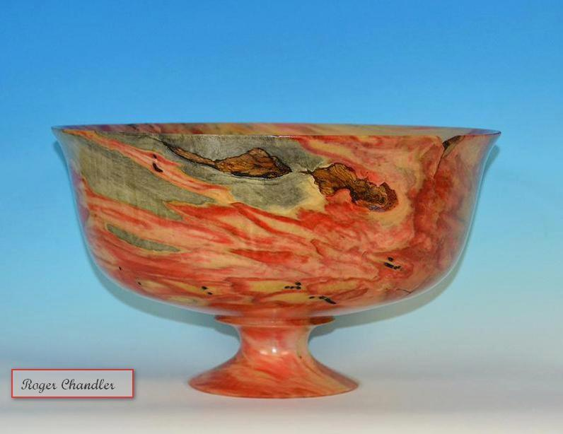 Box Elder Pedestal Bowl
