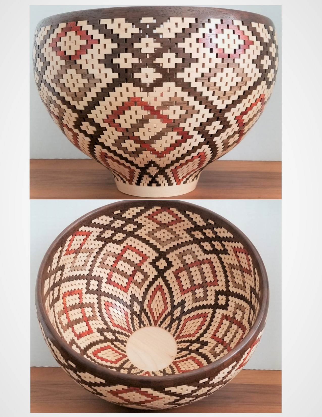 Looped Pattern Bowl