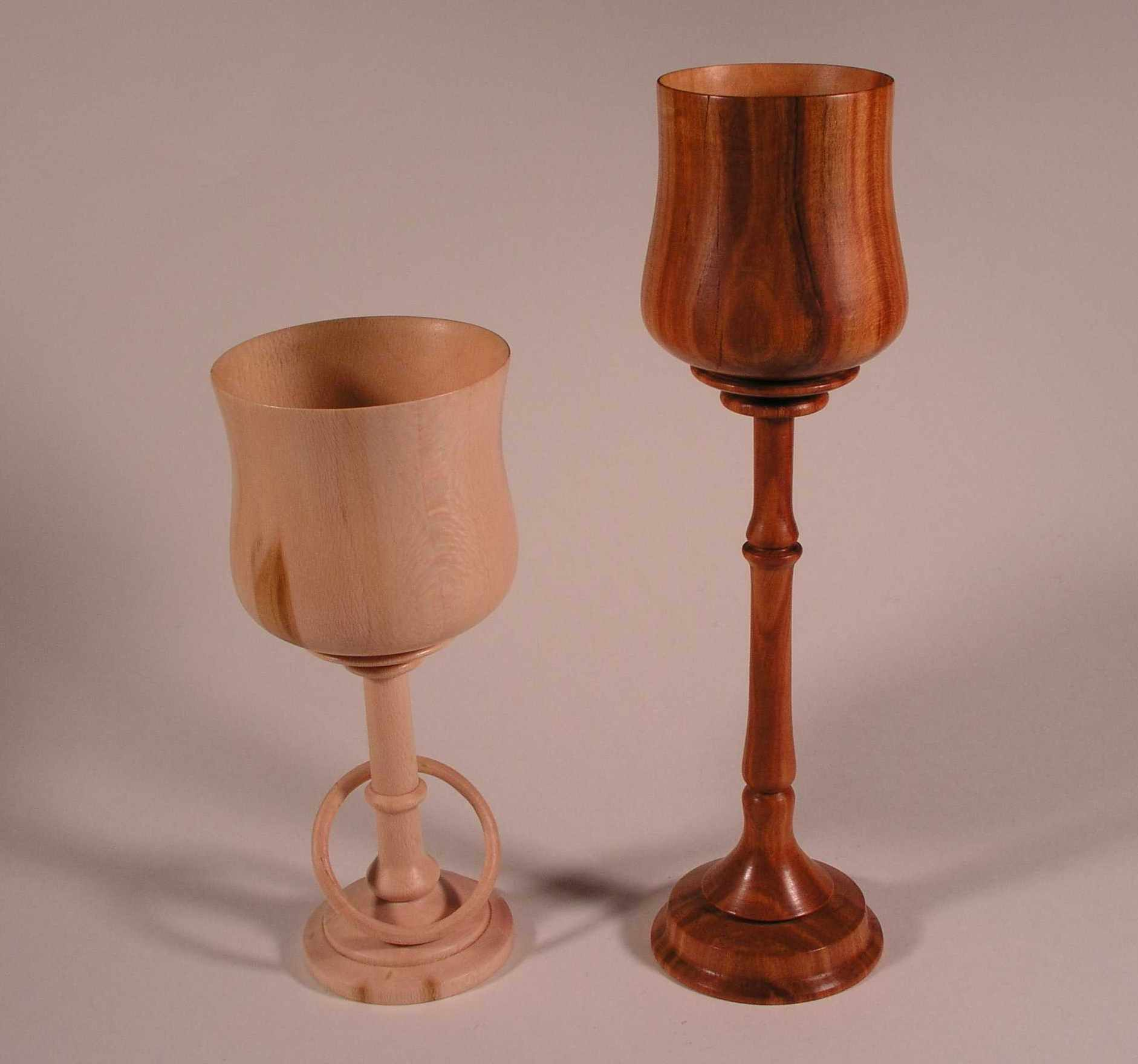 Sycamore & Cherry Goblets